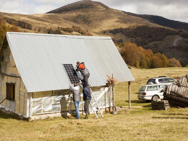 Počela raspodjela solarnih panela katunima - Vrijednost projekta 57.000 EUR