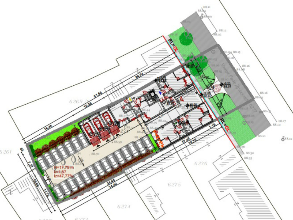 U Somboru u planu zgrada sa 23 stana u neposrednoj blizini centra