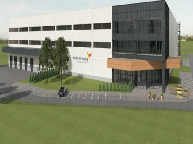 Bugarska Sopharma Trading gradi logistički centar za skladištenje lijekova i kozmetike u Novoj Pazovi