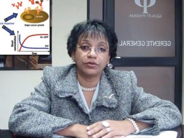 Soraida Acosta Brooks, kubanska doktorica - Prvi pacijent u BiH dobio vakcinu protiv raka pluća