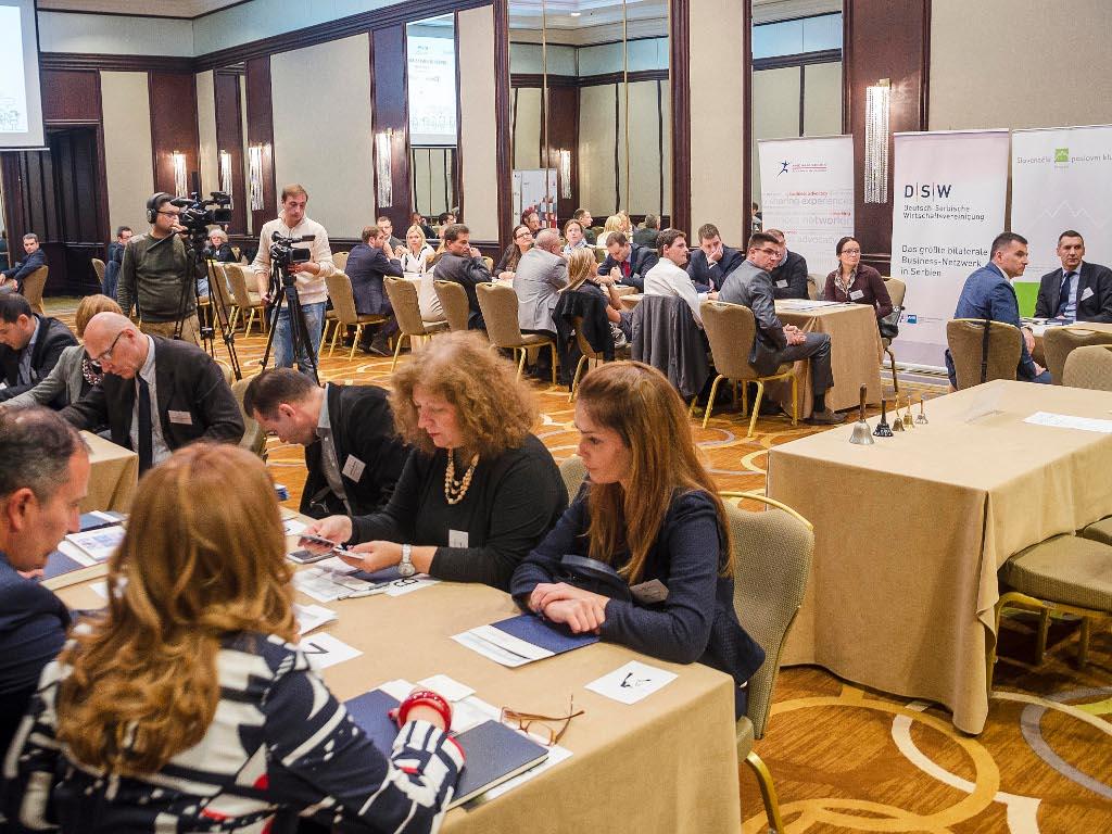 """Napredne tehnike povezivanja - Održan """"speed business meeting"""" predstavnika slovenačke, nemačke i američke poslovne zajednice u Srbiji"""