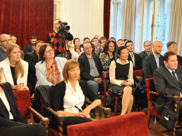 Sa sastanka Slovenačkog poslovnog kluba