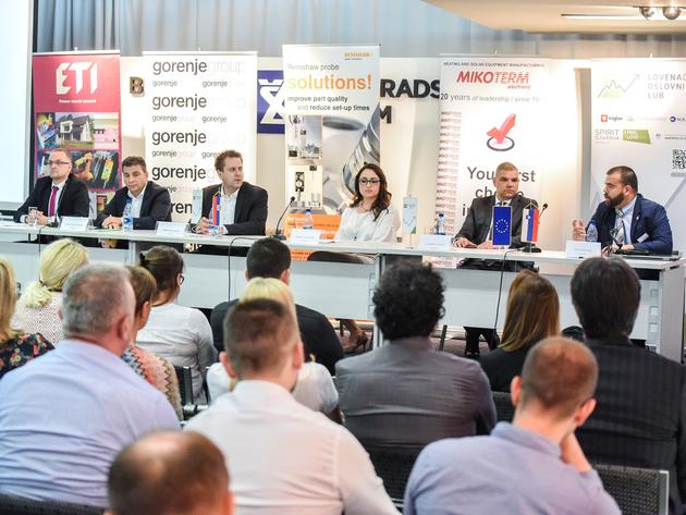 Panel Slovenačkog poslovnog kluba o digitalnoj transformaciji privrede - Krajnji cilj je pametna fabrika