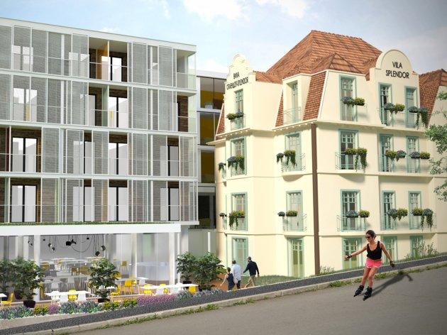 Neben der rekonstruierten Villa will man einen neuen Teil bauen
