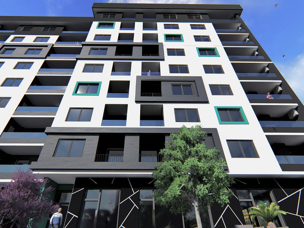 Prva zgrada kompleksa Bulevar na Stupu gotova u novembru 2019. - U planu još tri lamele (FOTO)