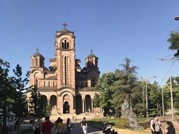 Spomenik Patrijarha Pavla biće izgrađen kod Crkve svetog Marka