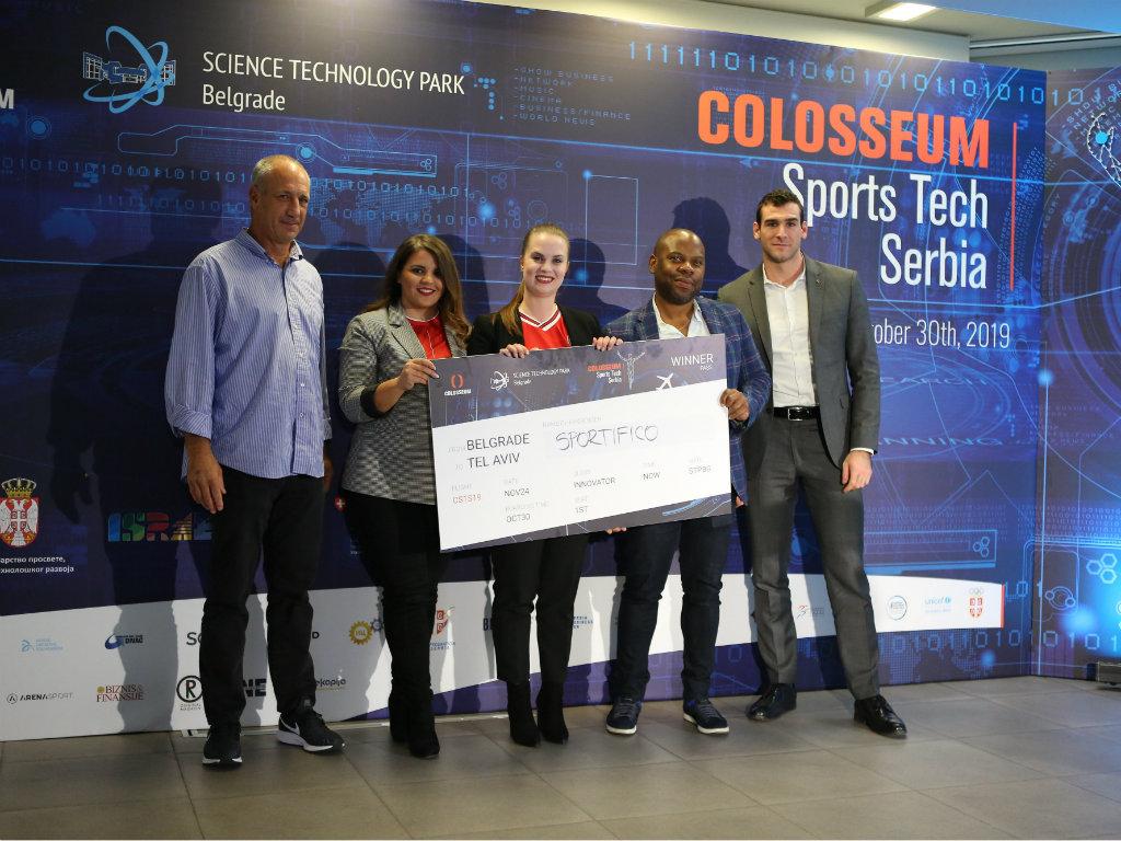 Platforma za ženski fudbal najbolje rješenje prvog Colosseum Sports Tech Serbia programa