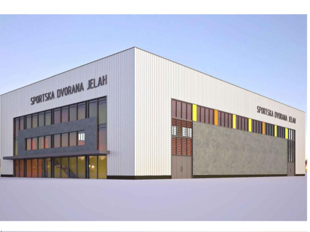 U pripremi izgradnja sportske dvorane Jelah - Općina Tešanj traži ponude za izradu glavnog projekta