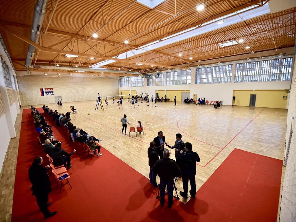 Banjaluka otvorila sportsku dvoranu izgrađenu na mestu Šoping centra