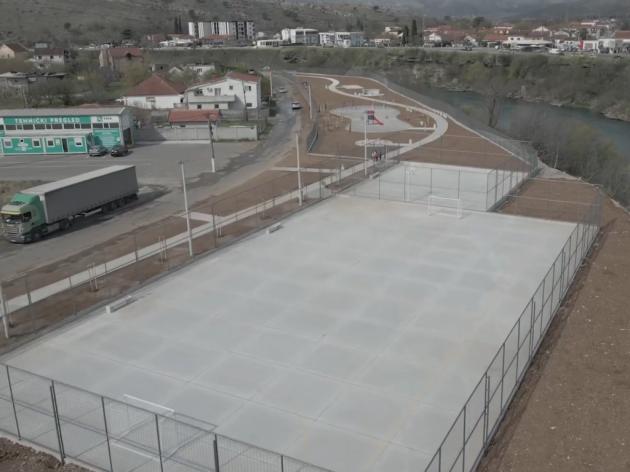 Podgorica dobila novu sportsko-rekreativnu zonu na 9.000 m2