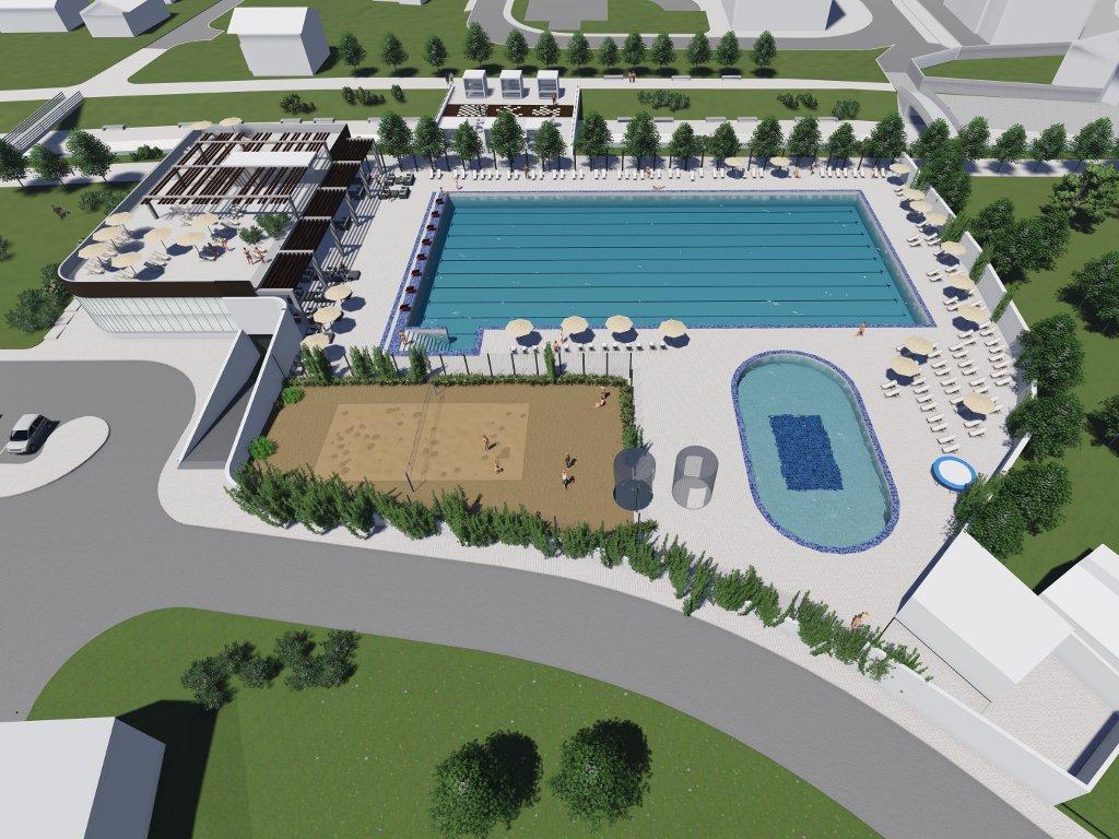 """Olimpijski bazen, tereni, restorani - Pogledajte kako će izgledati sportsko-rekreacioni centar """"Dobrinja"""" (FOTO)"""