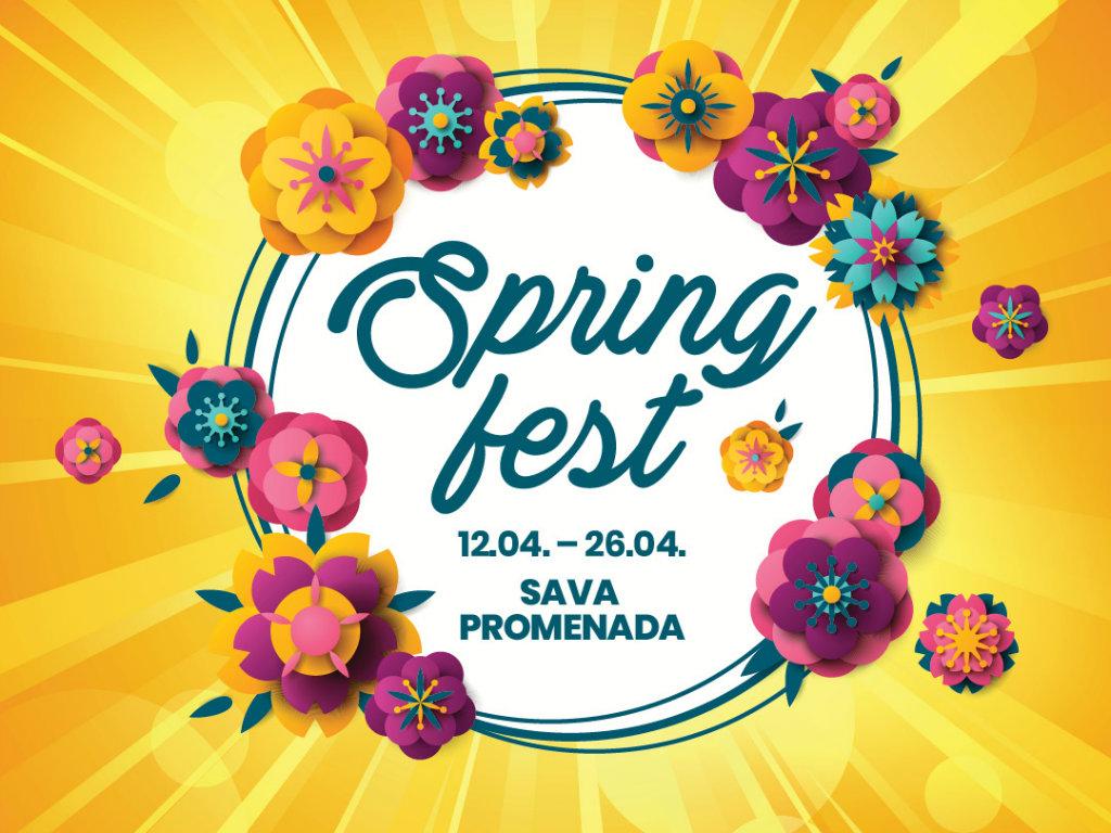 Spring fest, početak proleća na Sava Promenadi