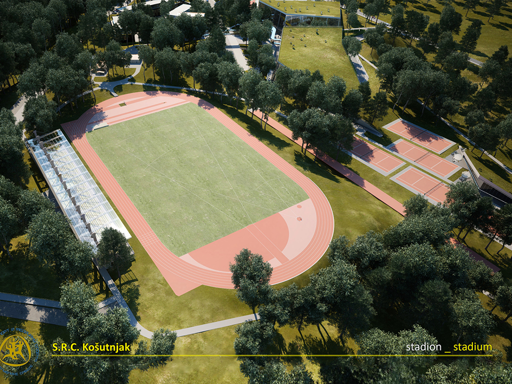 Multifunctional sports hall, stadium and Olympic pool – Here's what might be built within SRC Kosutnjak