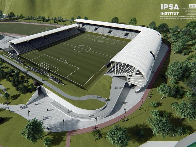 IPSA Institut uradio idejno rješenje obnove stadiona Mračaj u Jajcu (FOTO)