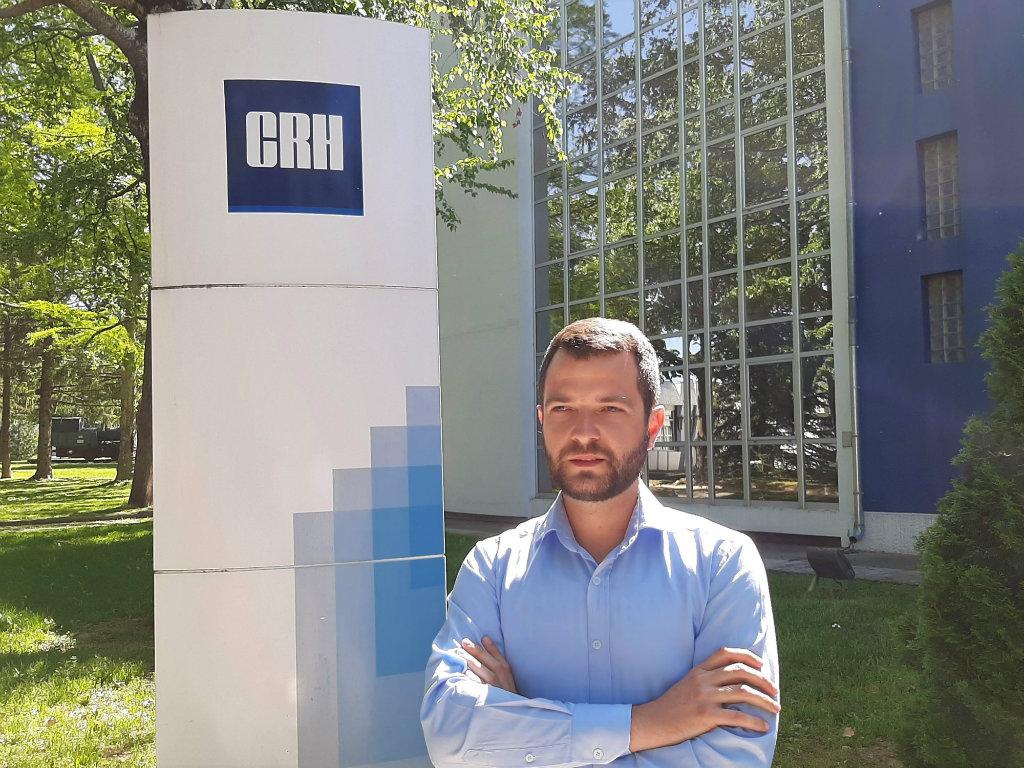 Sreten Obrenović CRH Srbija - ZidoMal, novo visokokvalitetno vezivo za zidanje i malterisanje