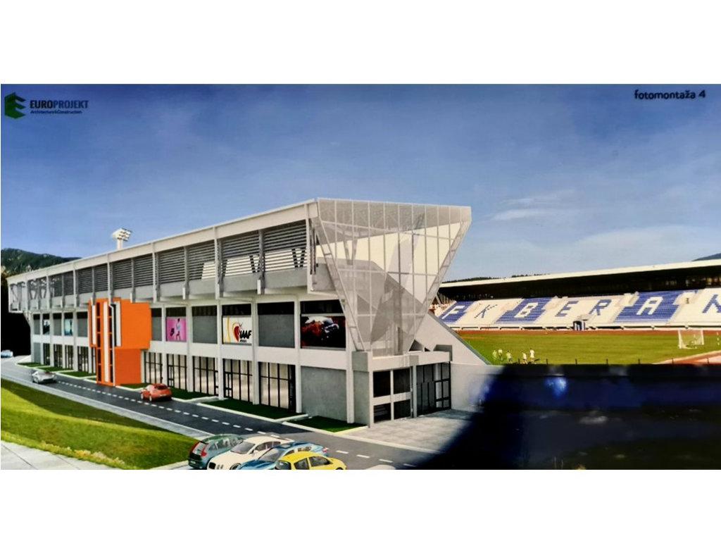 U rekonstrukciju stadiona u Beranama biće uloženo 1,1 mil EUR - Uskoro tender za prvu fazu radova