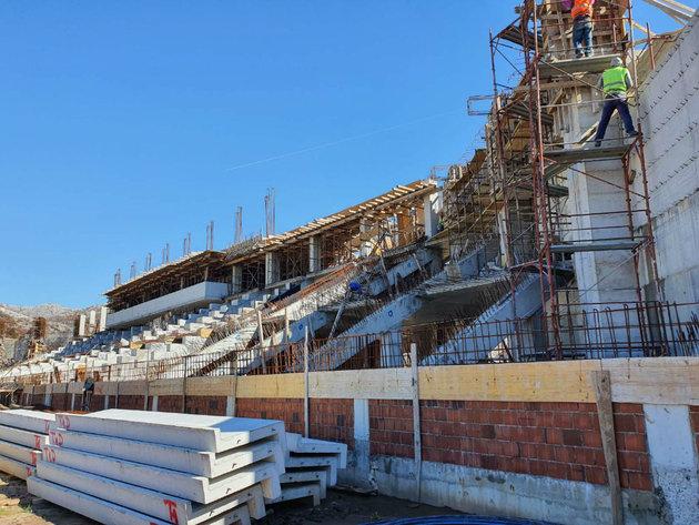 Izgradnja stadiona na Cetinju