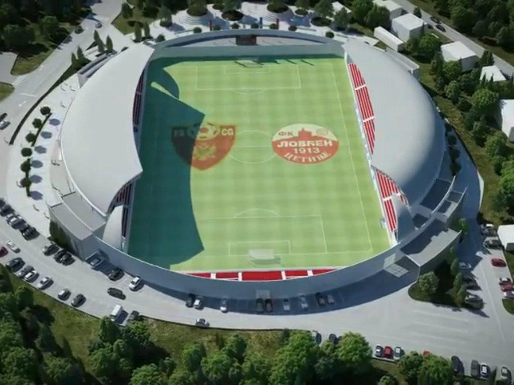 Na Cetinju u toku gradnja stadiona sa 5.192 mjesta vrijednog 8,8 mil EUR - Zbog virusa korona moguće kašnjenje radova