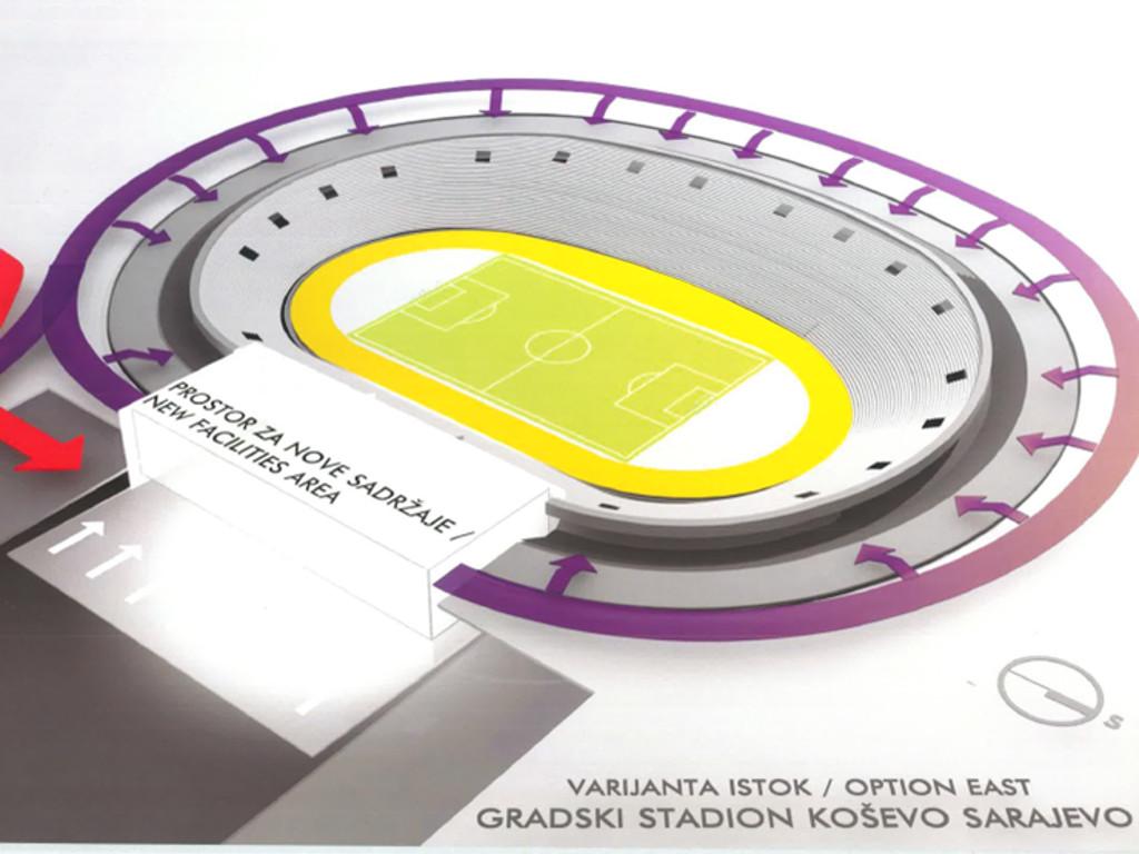 Obnovljeni stadion Koševo neće imati atletsku stazu? - Investitori žele poseban poligon