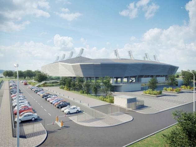 Das Stadion soll eine Kapazität von mehr als 8.000 Sitzplätzen haben.