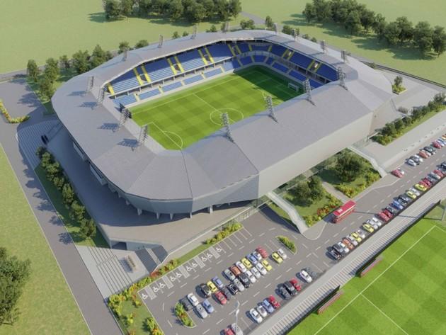 Budući izgled novog stadiona u Kraljevu