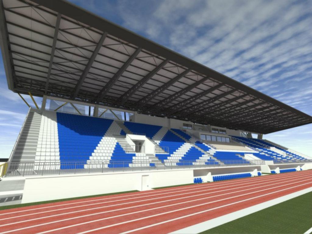 Napreduje izgradnja tribine fudbalskog stadiona u Nikšiću - Projekat vrijedan 4,6 mil EUR