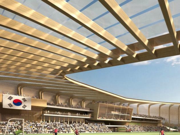 Izabran pobjednički dizajn za nacionalni fudbalski centar u Seulu (FOTO)