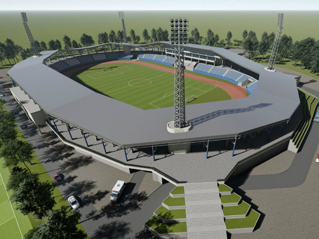 Plan uređenja Gradskog stadiona u Subotici spreman za usvajanje - Početak radova na proleće 2020.