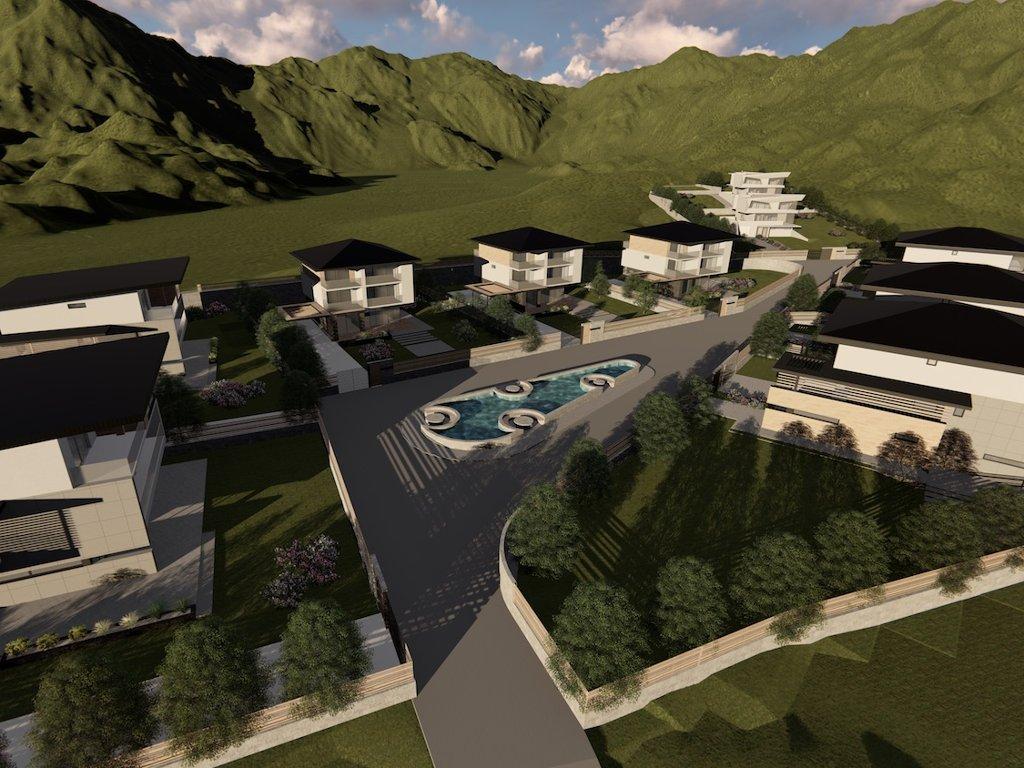 U planu gradnja naselja Poljine Glade u Vogošći - U 10 vila biće uloženo oko 2,8 mil EUR (FOTO)