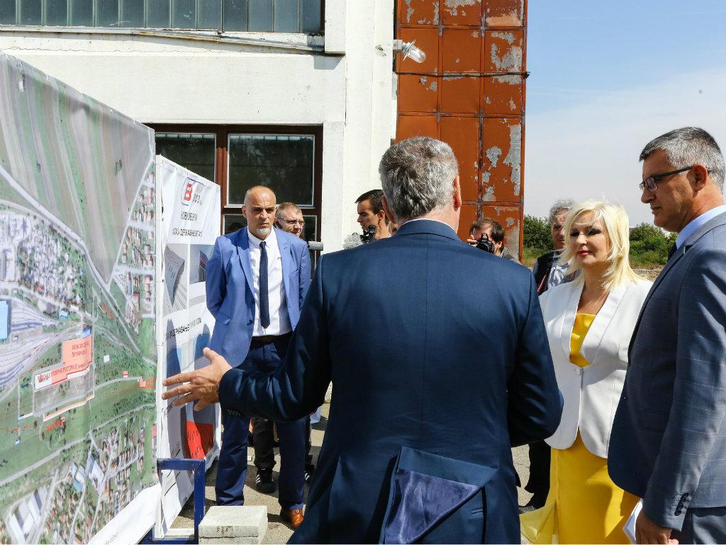 Počeli radovi na tehničko-putničkoj stanici Zemun - Vrednost investicije 52 mil EUR, a rok 27 meseci