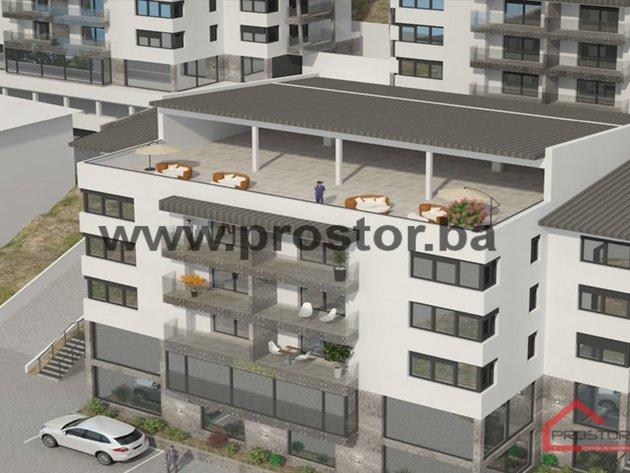 Niče intimno rezidencijalno naselje Hillside Residence u Sarajevu - Prva lamela gotova u septembru