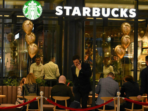 First Starbucks in Serbia opens