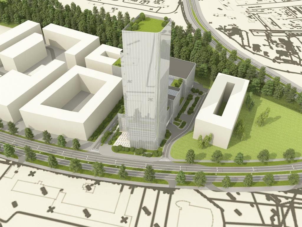 Novi Beograd treba da dobije još jednu kulu od 35 spratova - Na Tošinom bunaru u planu gradnja kongresnog centra Stari aerodrom (FOTO)