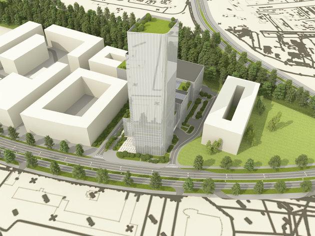 Novi Beograd erhält weiteren 35-stöckigen Turm? - Bau des Stari Aerodrom-Kongresszentrum in Tosin Bunar geplant