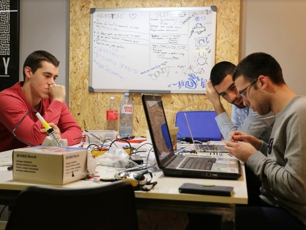 Team Auxesia entwickelt sein Erzeugnis