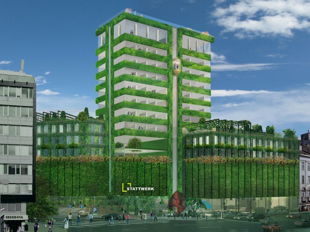 Beograd dobija prvi soliter sa zelenim fasadama - Stattwerk priprema obnovu zgrade Beobanke (FOTO)