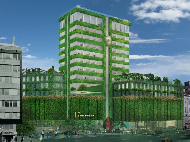 Mogući izgled zgrade na Zelenom vencu