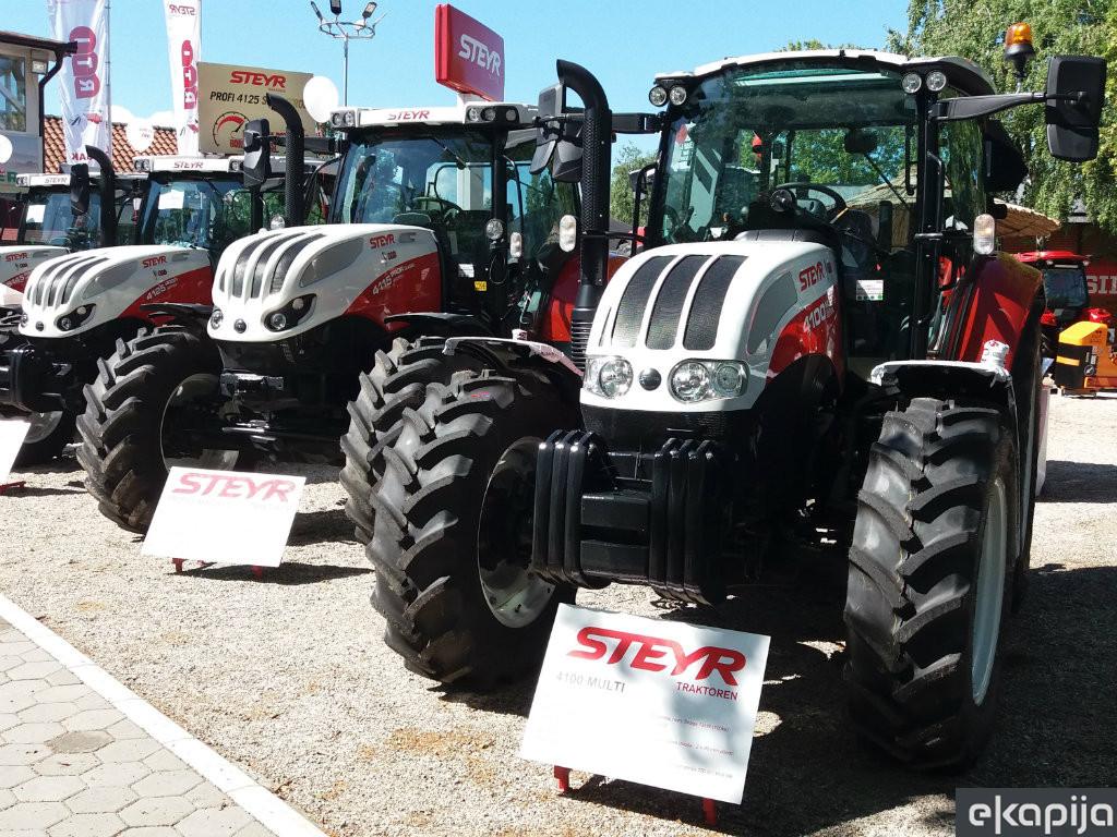 Najprodavaniji traktori preko IPARD-a modeli Multi kompanije Steyr