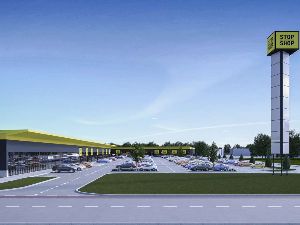 Stop Shop retail park in Pozarevac to open on April 19