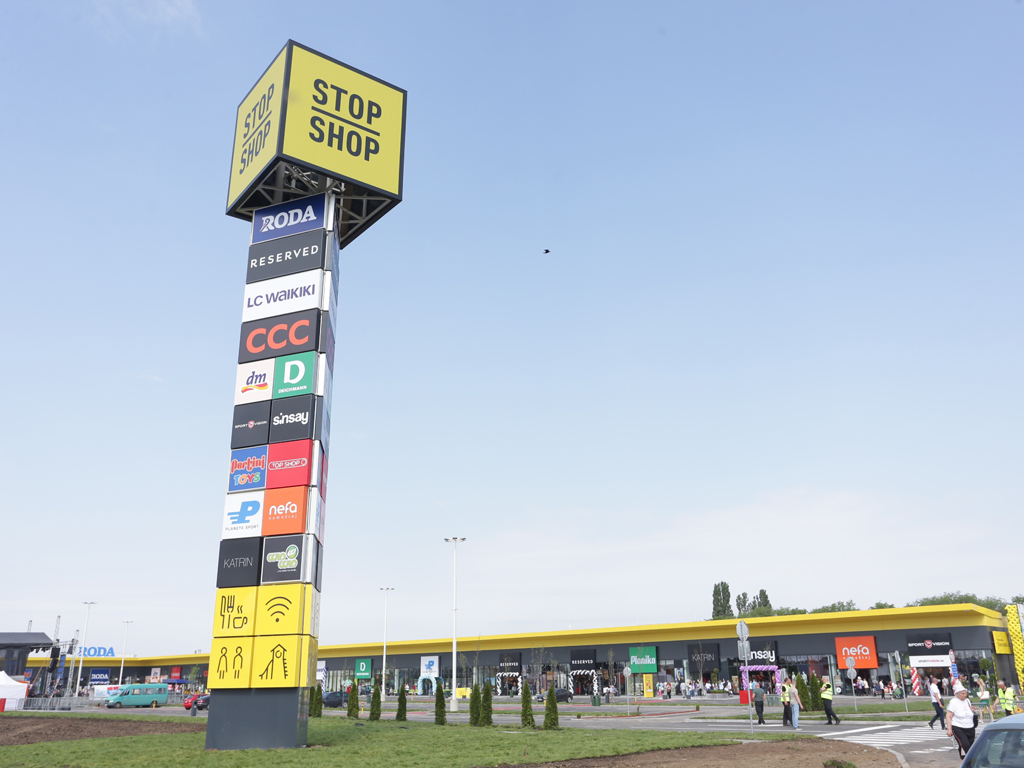 Immofinanz opens sixth Stop Shop retail park in Serbia in Vrsac – Works in Sremska Mitrovica advancing as well