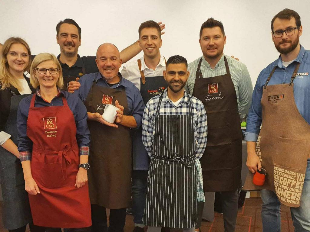 Strauss Coffee održao takmičenje za najboljeg baristu 2019. godine - Pobednik Aleksandar Lekomcev iz Ukrajine