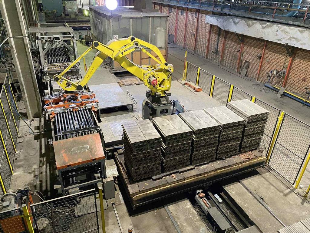 Nexe Grupa investirala 550.000 EUR u automatizaciju proizvodnje - Tri robota u fabrici cigle u Stražilovu