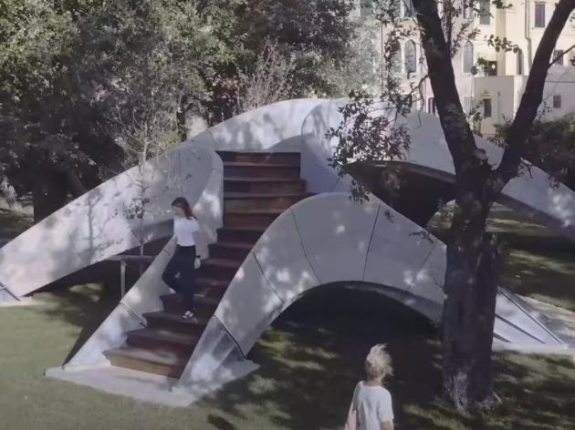 Nova metoda 3D štampe - Betonski most bez armature (VIDEO)