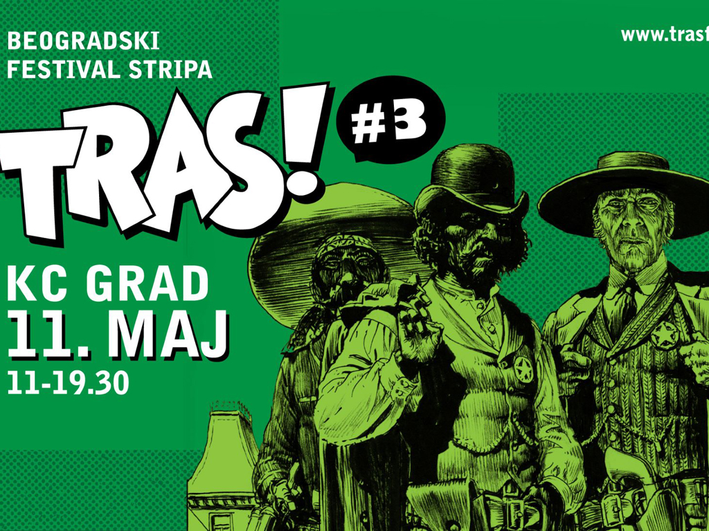 Tras! festival stripa za vikend u Beogradu