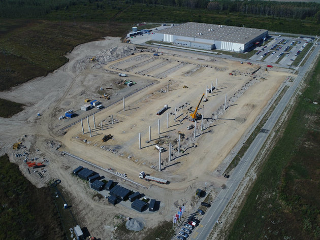 CTP Invest gradi novu fabriku u Novom Sadu - Otvaranje planirano na proleće 2020.