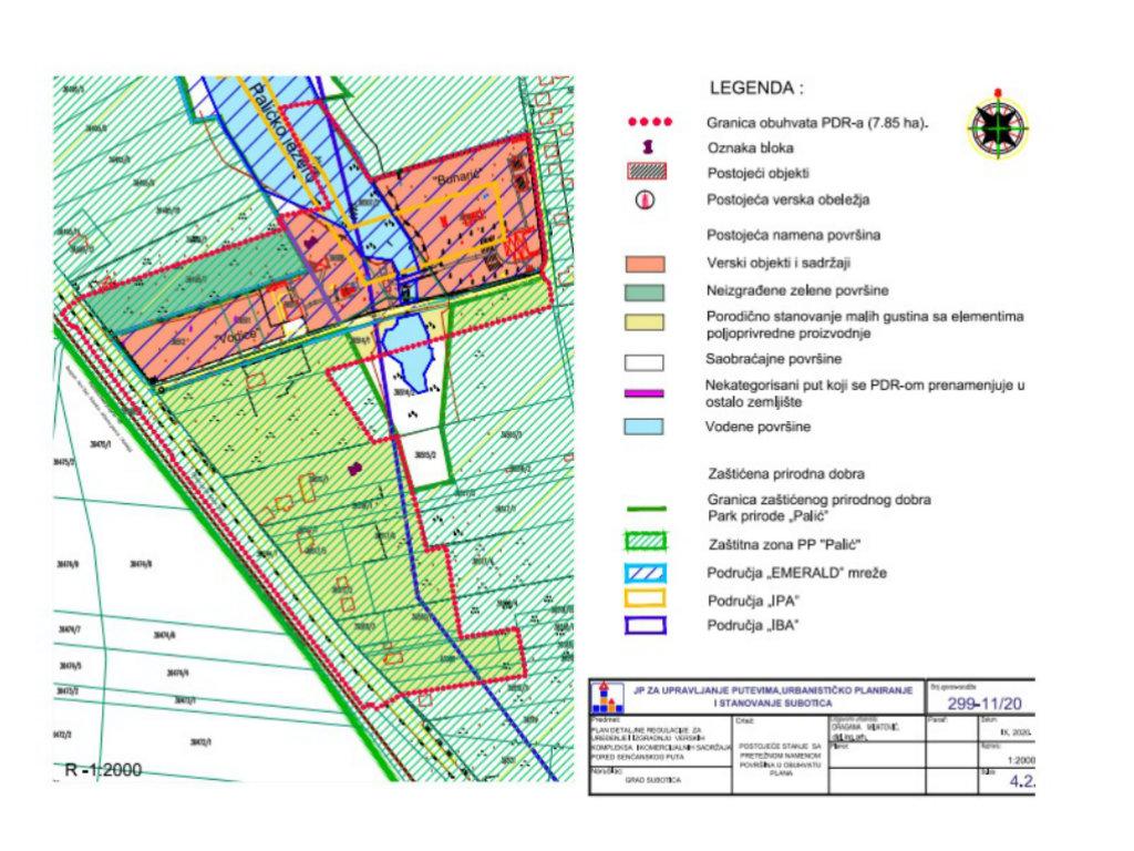 Nacrt PDR za uređenje i izgradnju verskih kompleksa i komercijalnih sadržaja uz Senćanski put u Subotici na javnom uvidu do 10. novembra