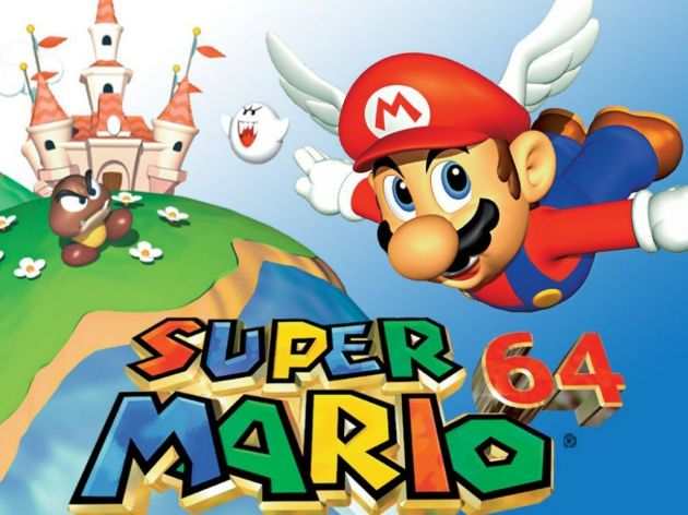 Legendarna video igrica Super Mario 64 prodata za preko milion funti