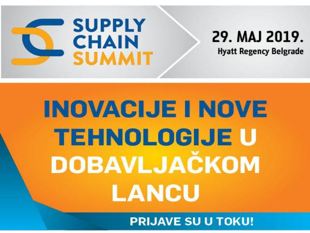 Supply Chain Summit 29. maja u Beogradu - Inovacije i nove tehnologije u dobavljačkom lancu