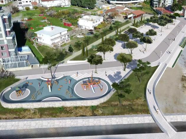 Nastavljena rekonstrukcija šetališta i trga u Sutomoru - Radovi u četiri faze, vrijednost investicije 970.000 EUR