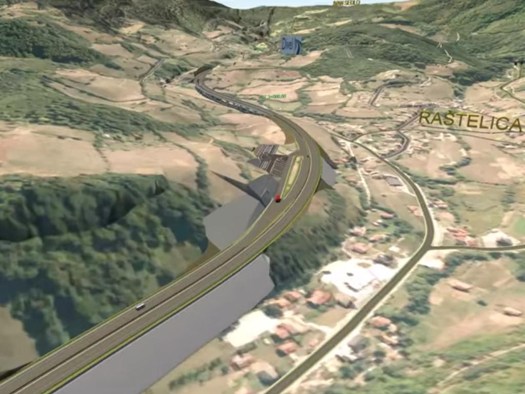 Za izgradnju poddionice puta Tarčin-Ivan stiže grant od 11,78 mil EUR